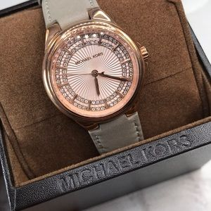 Michael Kors Rose Gold Slim Camille Watch